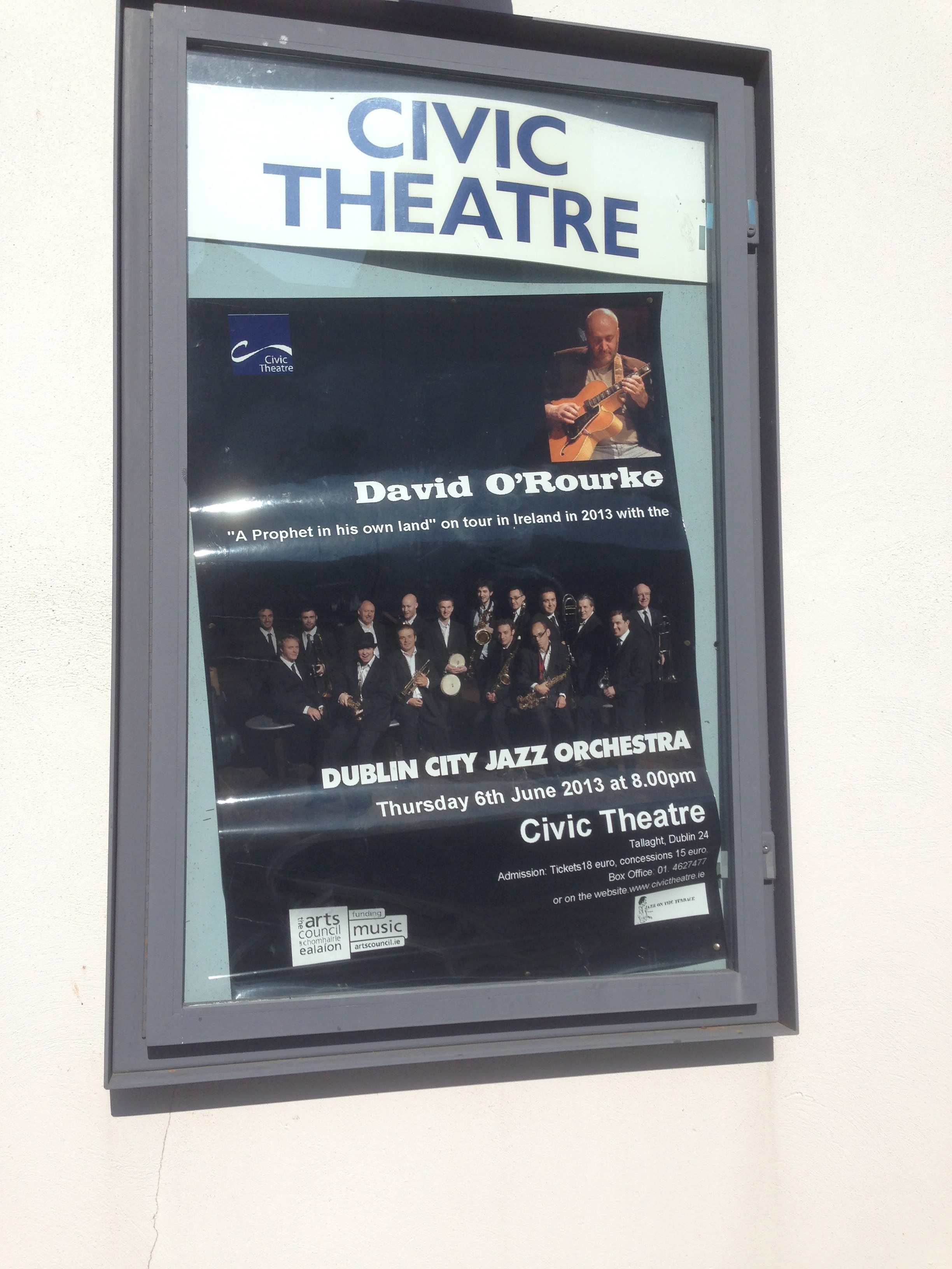 Poster for Civic Theater, Tallaght